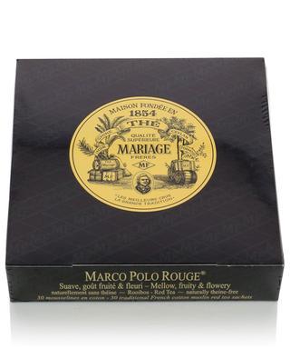 Marco Polo Rouge muslin tea sachets MARIAGE FRERES