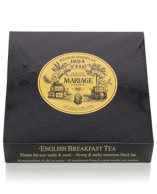 English Breakfast Tea muslin sachets MARIAGE FRERES