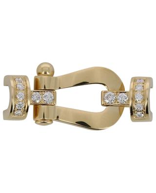 Manille en or jaune avec diamants Force 10 Medium FRED PARIS