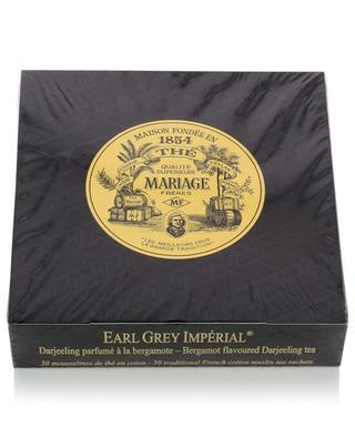 Earl Grey Impérial muslin tea sachets MARIAGE FRERES