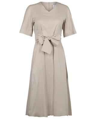 Lea flared cotton stretch dress 'S MAXMARA