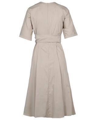 Ausgestelltes Kleid aus Baumwollstretch Lea 'S MAXMARA