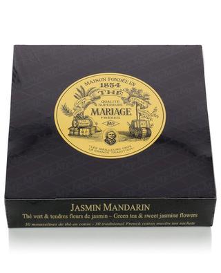 Jasmin Mandarin muslin tea sachets MARIAGE FRERES