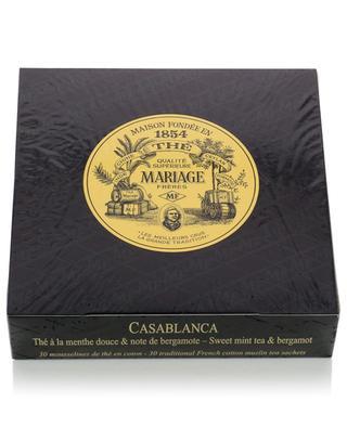 Casablanca muslin tea sachets MARIAGE FRERES