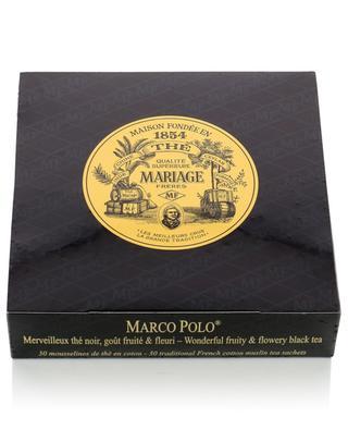 Marco Polo muslin tea sachets MARIAGE FRERES