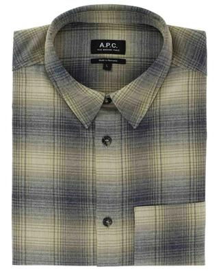 John checked flannel overshirt A.P.C.