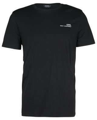 T-Shirt aus Bio-Baumwoll-Jersey mit Logoprint Item A.P.C.