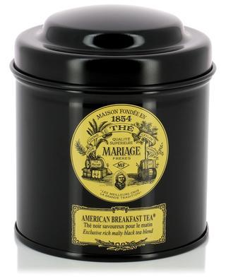 American Breakfast black tea MARIAGE FRERES