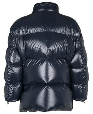 VLTN Tag glossy oversize down jacket VALENTINO