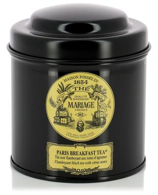 Paris Breakfast Tea black tea MARIAGE FRERES