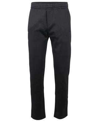 Neon VLTN technical jersey track trousers with piping VALENTINO