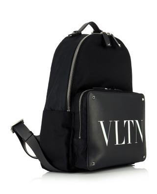 VLTN leather and nylon backpack VALENTINO