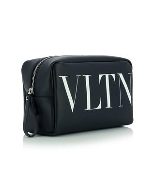 VLTN printed smooth leather toiletry pouch VALENTINO