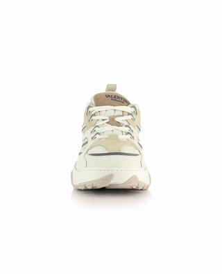 Afterdash low-top multi-material lace-up sneakers VALENTINO