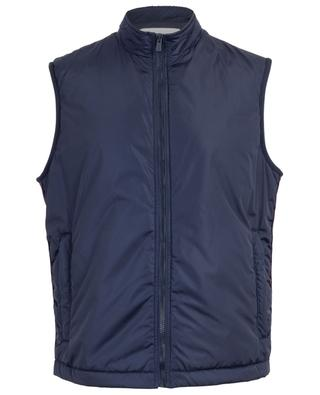 Gilet en nylon zippé Bally Panelling Thindown BALLY