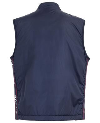 Bally Panelling Thindown zippered nylon gilet BALLY