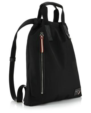 Falco flat nylon and leather backpack BALLY