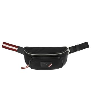 Finlei nylon and leather belt bag BALLY
