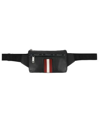 Helvet leather belt bag with stripe detail BALLY