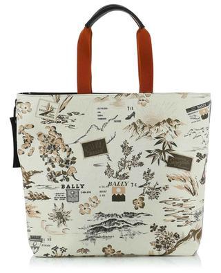 Rast Alpin printed coated canvas tote bag BALLY
