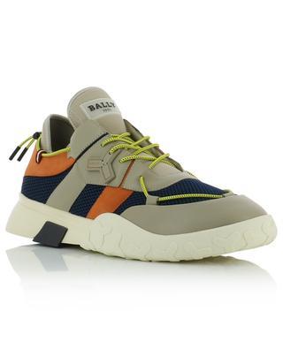 Slip-On-Sneakers aus Leder und Mesh Galwan BALLY