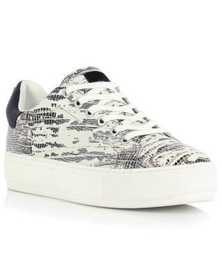 Plateau-Sneakers aus Leder in Eidechsenoptik Laney Eagle KURT GEIGER LONDON