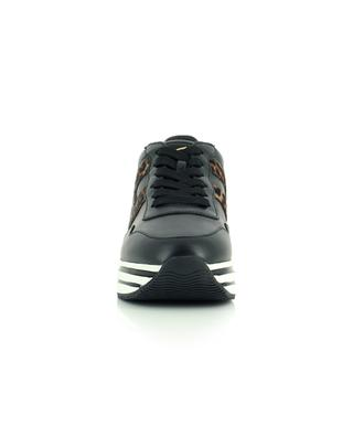Keilsneakers mit Leo-Print-H H483 HOGAN