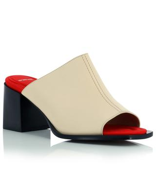 Efebo leather block heel mules SPORTMAX