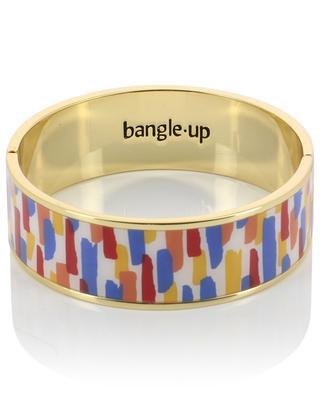 Zelligue golden brass cuff BANGLE UP