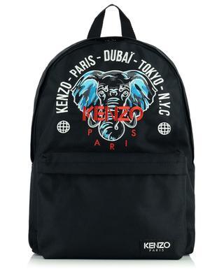 Elephant embroidery backpack KENZO