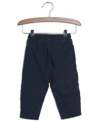 Pantalon en gabardine imprimé logo KENZO