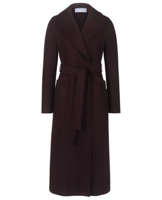 Manteau long maxi en laine pressée doublure polaire HARRIS WHARF