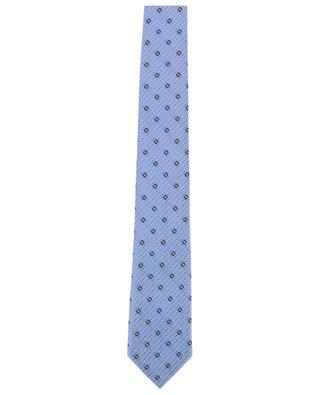 Bedruckte Krawatte aus Seide ERMENEGILDO ZEGNA