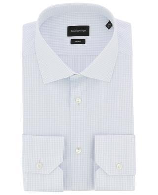 Trofeo checked cotton shirt ERMENEGILDO ZEGNA