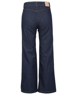 Royal Navy flared high-rise jeans with braid embroideries SEE BY CHLOE