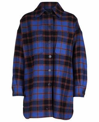 Oversize plaid shirt spirit coat SEE BY CHLOE