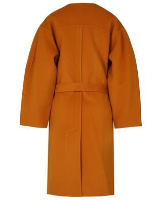 City open double-face wool and cashmere coat with belt SEE BY CHLOE