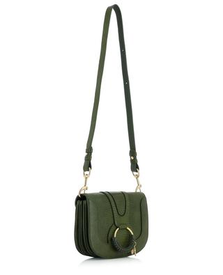 Hana lizard embossed leather shoulder bag SEE BY CHLOE