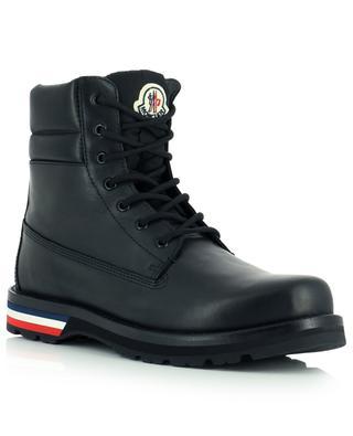 Vancouver leather lace boots MONCLER