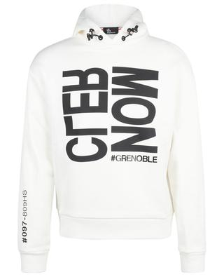 Après-Ski hooded graphic sweatshirt MONCLER