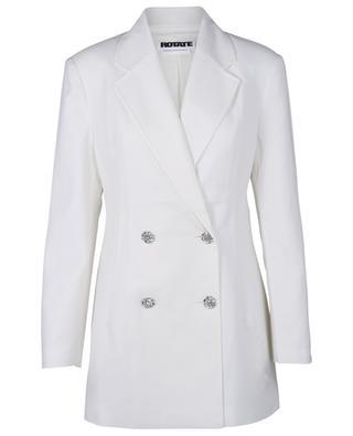 Fonda wool blend with rhinestone buttons blazer ROTATE BIRGER CHRISTENSEN