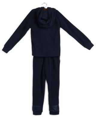 Fleece tracksuit set with tiger patch KENZO