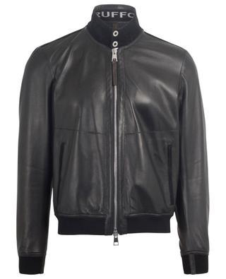 Leichte Jacke aus perforiertem Leder Pool RUFFO