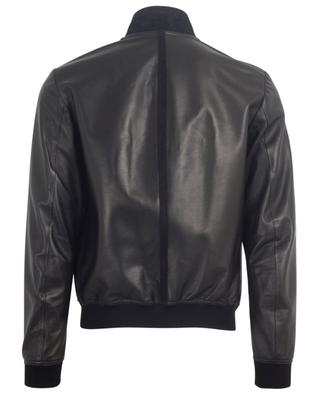 Pool perforated lightweight leather jacket RUFFO