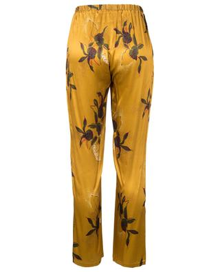 Abba viscose floral print trousers TOUPY