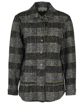 Joyce checkes wool overshirt TOUPY