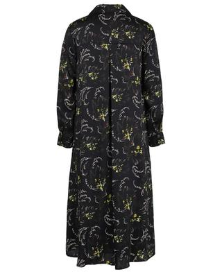 Pop printed A-line twill shirt dress TOUPY