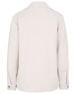 Sacre corduroy overshirt TOUPY
