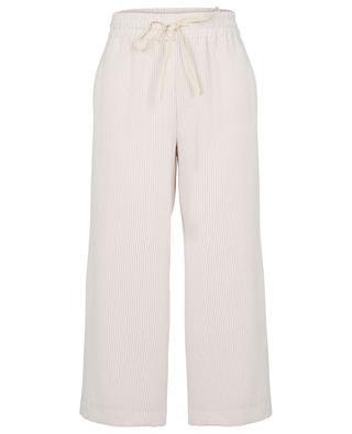 Sophia cropped wide-leg corduroy trousers TOUPY
