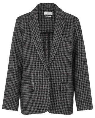 Oversize-Glencheck-Jacke aus Wolle Charly ISABEL MARANT